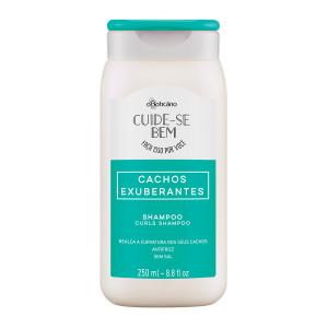 Boticario Cuide-se Bem (Cachos Exuberantes) - Shampoo Cachos 250 Ml
