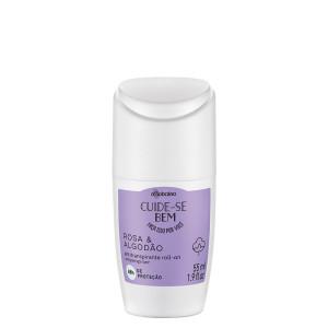 Boticario Cuide-se Bem (Rosa & Algodao)  - Desodorante Antitranspirante Roll On 55 Ml