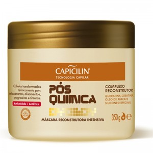 Capicilin Pos Quimica - Mascara Reconstrutora Intensiva 350 Gr