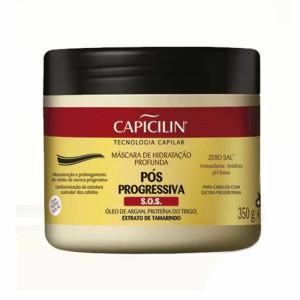 Capicilin Pos Progressiva - Mascara De Hidratacao Profunda 350 Gr