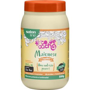 Salon Line Tratamento (#ToDeCacho) - Maionese Capilar {Uma Nutricao Power] 500 Gr