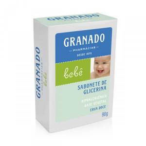Granado Bebe (Erva-Doce) - Sabonete em Barra 90 Gr