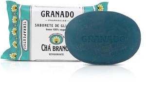 Granado Terrapeutics - Sabonete em Barra Cha Branco 90 Gr