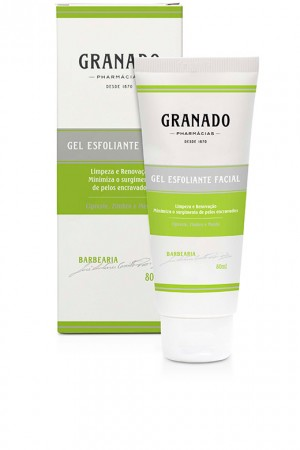 Granado Barbearia - Gel Esfoliante Facial 80 Ml