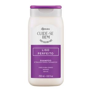 Boticario Cuide-se Bem (Liso Perfeito) - Shampoo Alisador 250 Ml