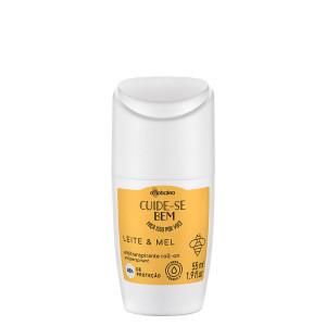 Boticario Cuide-se Bem (Leite & Mel)  - Desodorante Antitranspirante Roll On 55 Ml