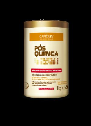 Capicilin Pos Quimica - Mascara Reconstrutora Intensiva 1000 Kg