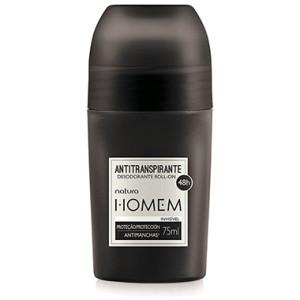 Natura Homem - Desodorante Antitranspirante Roll On Invisivel 75 Ml