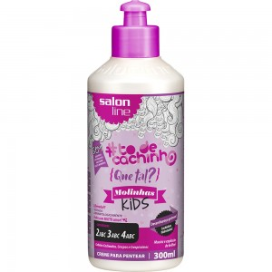 Salon Line Tratamento (#ToDeCacho)  - Creme De Pentear Molinha Kids 300 Ml