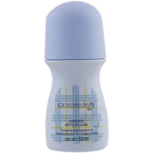 Giovanna Baby Tradicional - Desodorante Antitranspirante Roll On Blue 50ml