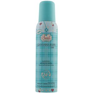 Giovanna Baby Sweet - Desodorante Antitranspirante Aerossol Candy 150ml