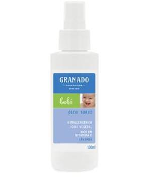 Granado Bebe (Lavanda) - Oleo Suave 120 Ml