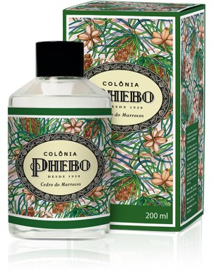 Phebo Mediterraneo (Cedro do Marrocos) - Deo Colonia Feminina 200 Ml