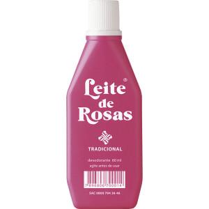 Leite de Rosas Tradicional - Desodorante Corporal  60 Ml